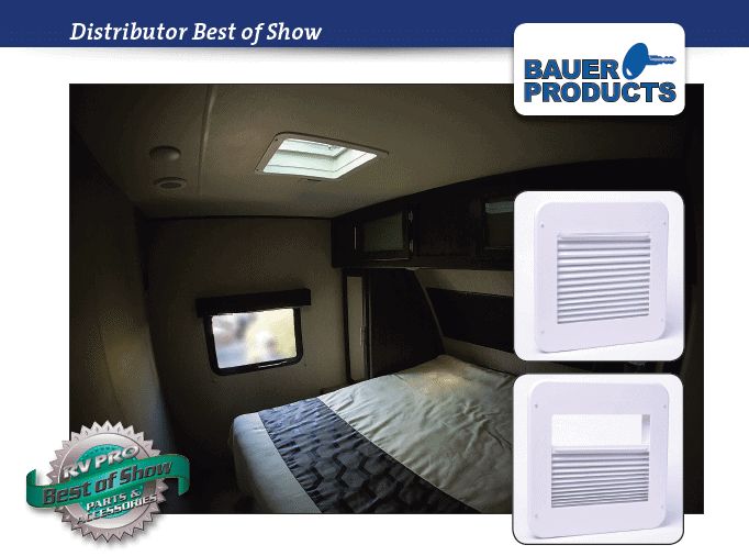 Vent Shade gets top new product award!